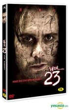 The Number 23 (DVD) (Korea Version)