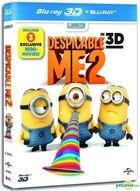 Despicable Me 2 (2013) (Blu-ray) (2D + 3D) (Hong Kong Version)