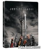 Zack Snyder's Justice League (2021) (4K Ultra HD + Blu-ray) (4-Disc Edition) (Steelbook) (Hong Kong Version)