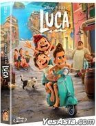 Luca (Blu-ray) (Full Slip Steelbook Limited Edition) (Korea Version)