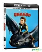 How To Train Your Dragon (2010) (4K Ultra HD + Blu-ray) (Hong Kong Version)