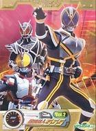Masked Rider 555 (DVD) (Vol.2) (Hong Kong Version)
