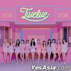 Twelve [TYPE A] (ALBUM +DVD) (普通版)(台灣版)