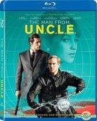The Man From U.N.C.L.E. (2015) (Blu-ray) (Hong Kong Version)