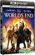 The World's End (2013) (4K Ultra HD + Blu-ray) (Hong Kong Version)