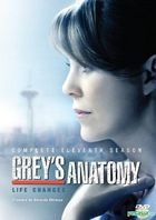 Grey's Anatomy (DVD) (Complete Eleventh Season) (Hong Kong Version)