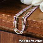 BTS : V Style - Familia Necklace (Purple)