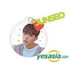 1THE9 1st Fanmeeting 'Hello, Wonderland' Official Goods - Acrylic Charm Key Ring (Kim Jun Seo)