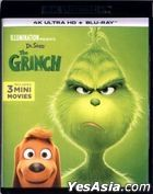 The Grinch (2018) (4K Ultra HD + Blu-ray) (Hong Kong Version)