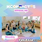 Weeekly - KCON:TACT HI 5 Official MD (AR Photo Card Stand)