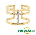 GOT7 Style - Uniquely Ring (Gold) (US Size: 6 - 8 1/2)