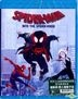 Spider-Man: Into the Spider-Verse (2018) (Blu-ray) (Hong Kong Version)
