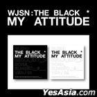 WJSN THE BLACK Single Album - My Attitude (Random Version) + Random Poster in Tube