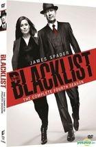 The Blacklist (DVD) (Ep. 1-23) (The Complete Fourth Season) (Hong Kong Version)