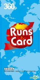 Runs Card 360-point Point Card