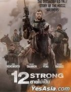 12 Strong (2018) (DVD) (Taiwan Version)
