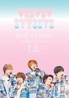 King & Prince Concert Tour 2020 - L& - [DVD] (Normal Edition) (Japan Version)
