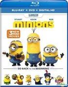 Minions (2015) (Blu-ray + DVD + Digital HD) (US Version)