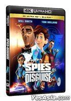 Spies in Disguise (2019) (4K Ultra HD + Blu-ray) (Hong Kong Version)