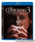 The Conjuring: The Devil Made Me Do It (2021) (Blu-ray) (Hong Kong Version)