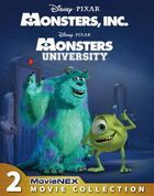 Monsters,Inc. MovieNEX 2-Movie Collection [Blu-ray + DVD] (Japan Version)
