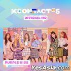 Purple Kiss - KCON:TACT HI 5 Official MD (Behind Photo Card Garland)