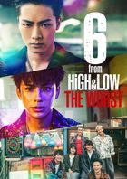 6 from HiGH & LOW THE WORST (DVD) (Japan Version)