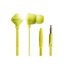 Zumreed ZHP-120S Earphones (with Mic) (Lime Yellow)
