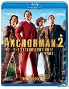 Anchorman 2: The Legend Continues (2013) (Blu-ray) (Korea Version)