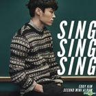 Eddy Kim Mini Album Vol. 2 - Sing Sing Sing + Poster in Tube