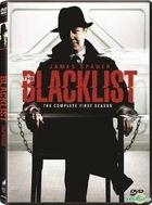 The Blacklist (DVD) (The Complete First Season) (Hong Kong Version)