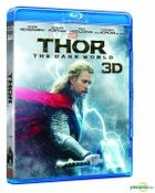 Thor: The Dark World (2013) (Blu-ray) (3D) (Hong Kong Version)