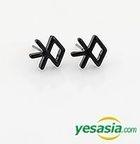 EXO Style - Thunder Earrings (Black)