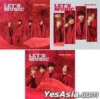 LET'S MUSIC [3 TYPES SET + BONUS] (台湾版)