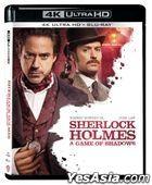 Sherlock Holmes: A Game of Shadows (2011) (4K Ultra HD + Blu-ray) (Hong Kong Version)