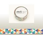 mt Masking Tape : mt 1P Stripe & Triangle Blue