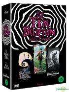 The Tim Burton Collection (DVD) (3-Disc) (Box Set) (First Press Limited Edition) (Korea Version)