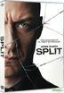 Split (2016) (DVD) (Hong Kong Version)
