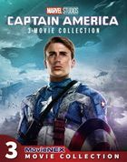 Captain America MovieNEX 3-Movie Collection [Blu-ray + DVD] (Japan Version)