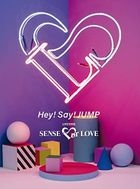 Hey! Say! JUMP LIVE TOUR SENSE or LOVE [3DVD] (First Press Limited Edition) (Japan Version)