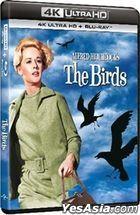 The Birds (1963) (4K Ultra HD + Blu-ray) (Hong Kong Version)