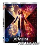 X-Men: Dark Phoenix (4K Ultra HD + 2D Blu-ray) (Slip Case Limited Edition) (Korea Version)