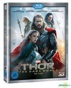 Thor : The Dark World (2013) (Blu-ray) ( 3D ) (Korea Version)