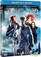 Seventh Son (2014) (Blu-ray) (3D + 2D) (Taiwan Version)