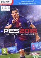 Pro Evolution Soccer 2018 (中英文合版) (DVD 版)