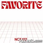 NCT 127 Vol. 3 Repackage - Favorite (CATHARSIS + CLASSIC Version)