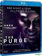 The Purge (2013) (Blu-ray) (Hong Kong Version)