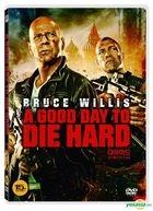 A Good Day To Die Hard (2013) (DVD) (Korea Version)
