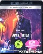 John Wick: Chapter 3 - Parabellum (2019) (4K Ultra HD + Blu-ray) (Hong Kong Version)