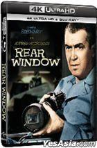 Rear Window (1954) (4K Ultra HD + Blu-ray) (Hong Kong Version)